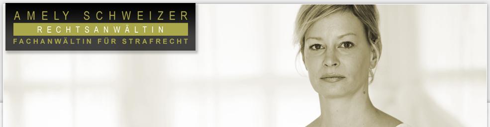 Rechtsanwältin Amely Schweizer - Fachanwalt für Strafrecht - Header-Schweizer